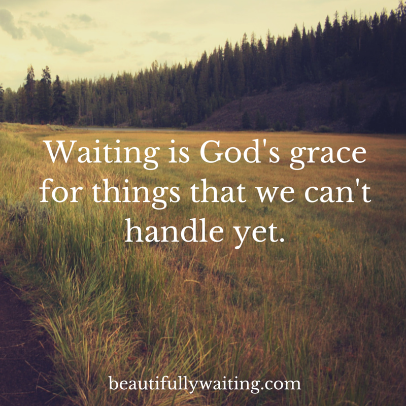 Image result for quotes about waiting on god